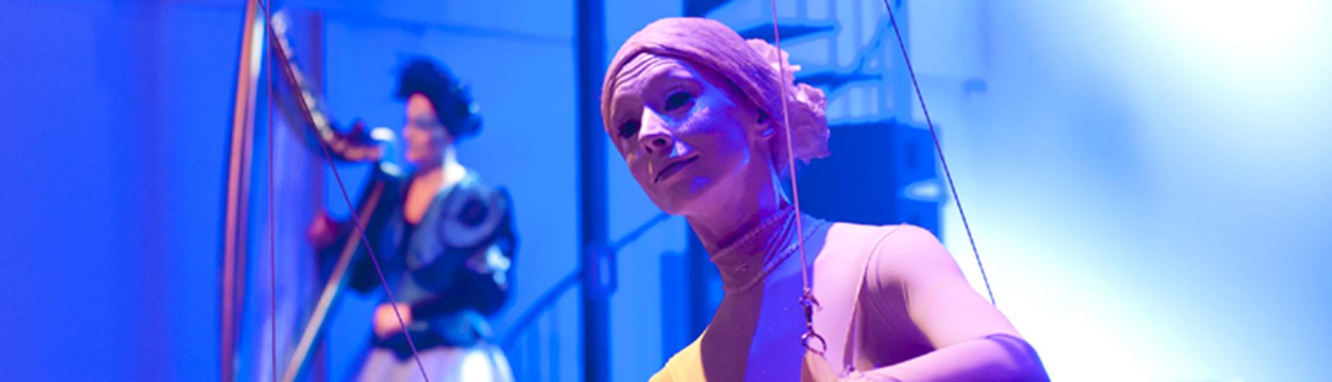 Circus act boeken De Ballerina gigworld HEADER 1