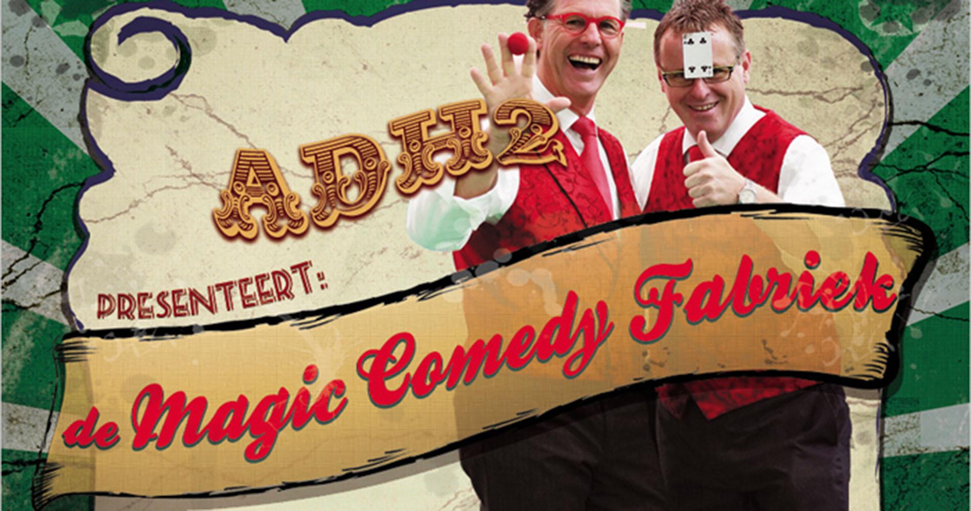 Entertainment de Magic Comedy Fabriek HEADER 1 GigWorld