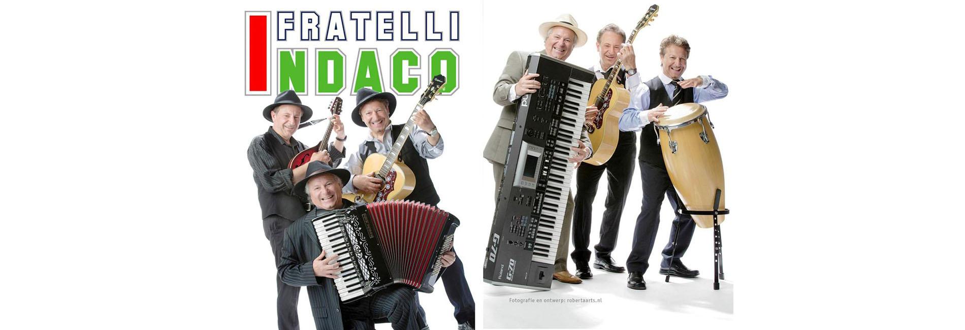 Italiaanse band I Fratelli Indaco HEADER 1